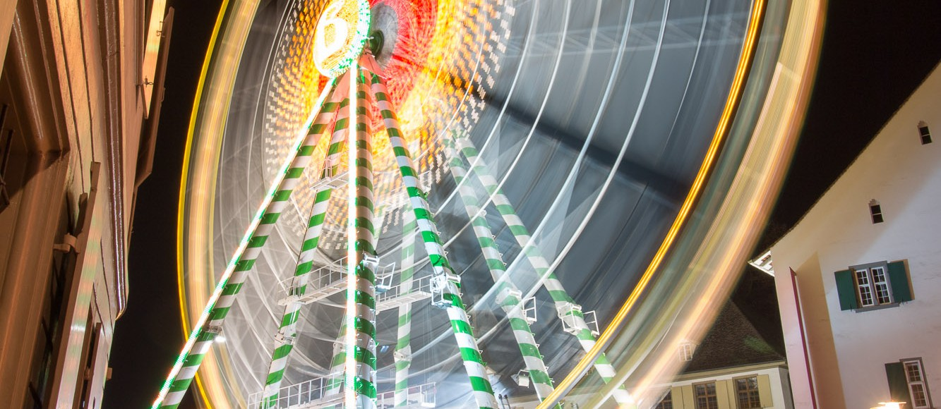 Basler Herbstmesse by Night